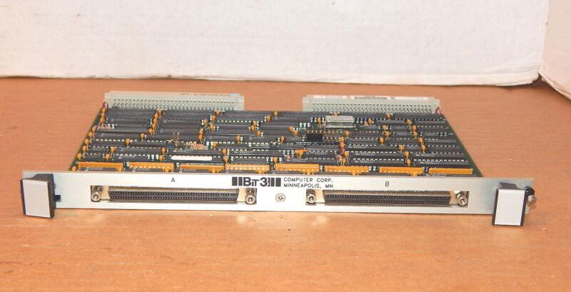 Bit 3 Computer 418-101, 84702215 Rev. F. VME Board, VME Bus