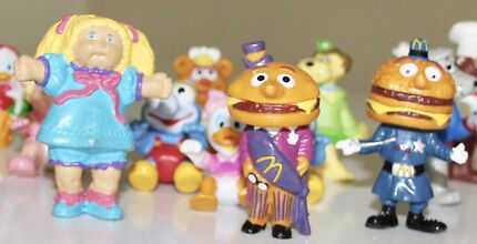 80's collectable figurines / toys (including happy meal toys)