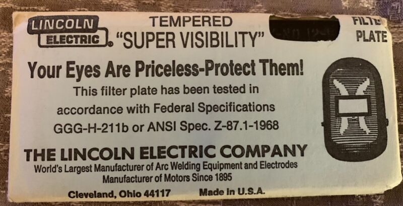 Lincoln Electric Supervisibility Shade 12 Lens