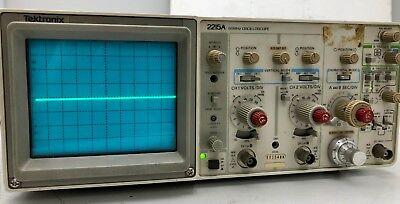 X1 Tektronix 2215a 60mhz Oscilloscope Free Shipping