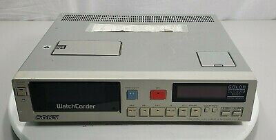 Sony Watchcorder Evt-820 Time Lapse Recorder