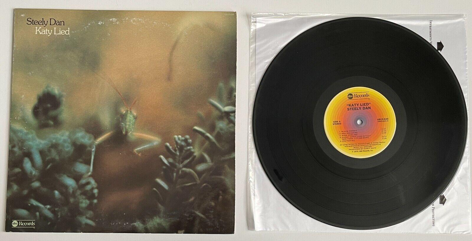 Steely Dan LP Katy Lied 1975 ABC Records ABCD-846 VG  - $22.06