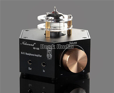 Nobsound Ns 02E Stereo Vacuum Tube Headphone Amplifier Class A Hifi Audio Preamp