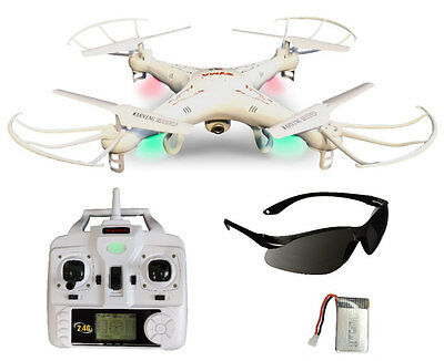 SYMA X5C Quadrocopter Simple-Edition 3.6 MP HD Kamera mit Tonaufnahme, 3D Drohne