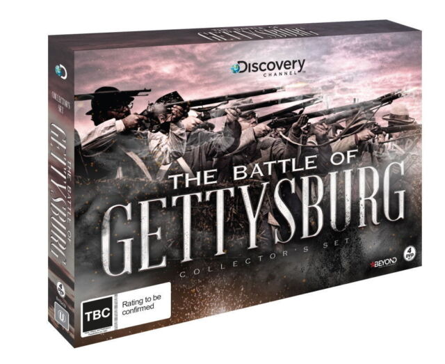 The Battle Of GETTYSBURG DVD BRAND NEW RELEASE 4DISC COLLECTOR'S GIFT BOX SET R4