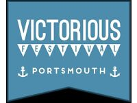 Family camping ticket VICTORIOUS FESTIVAL Southend 24-26 Aug - all weekend