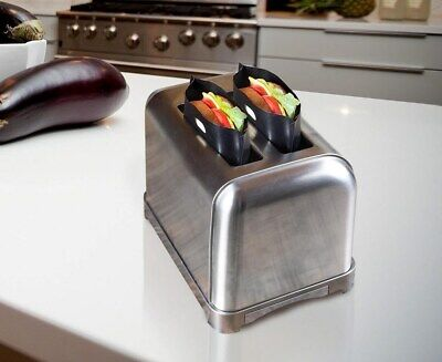 Greenco Toaster Bags Reusable Bread   (12 Break down)