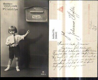268642,Kinder Kind m. Brief Briefkasten Post Geburtstag pub RPH 5729/4