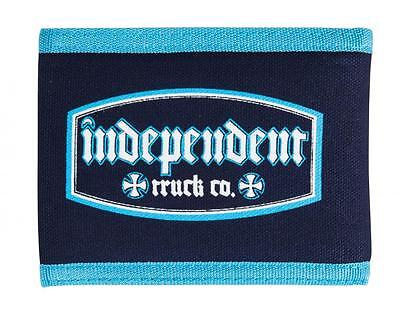 INDEPENDENT TRUCKS CO' -Wallet - Re Labled - Skateboard Wallet Denim/Light Blue