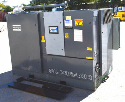 Atlas Copco Zr4-63 400hp 3ph Oil Free Air Compressor Screw 67330-hrs New Zstage2