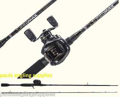 Abu Garcia Pro  Max Fishing Rod & Reel Baitcasting Spin Spinning Combo
