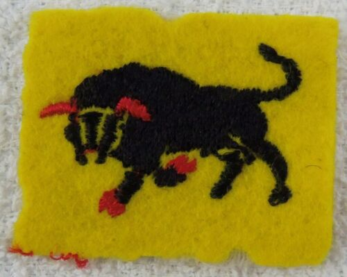 WW2 Original British 11th Armor Division Patch