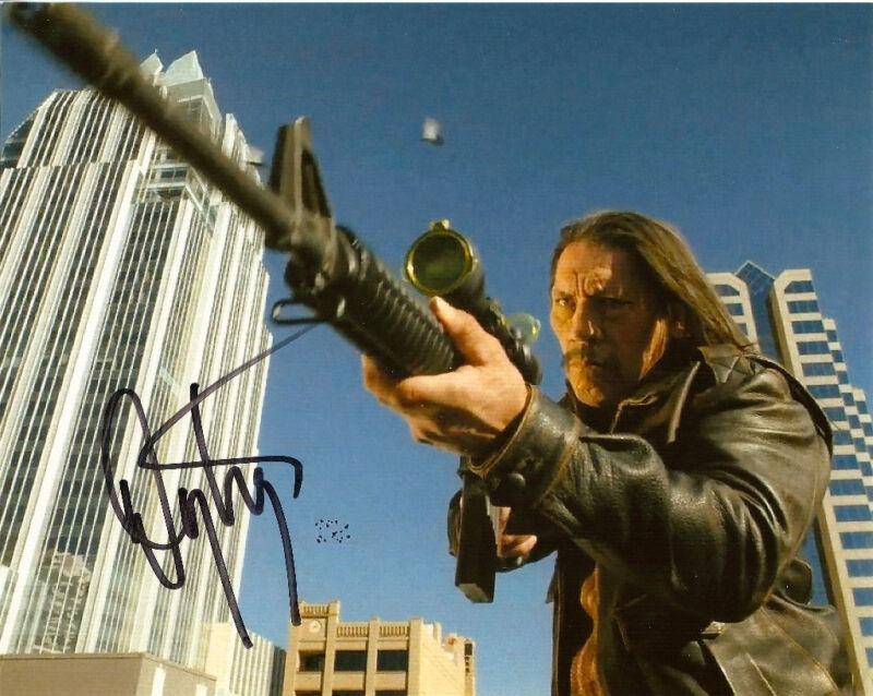 Machete Danny Trejo Signed Autographed 8x10 COA