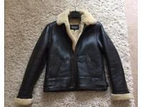Ladies Lakeland fine leather jacket size10 NEW