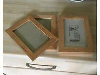 IKEA Wooden Photo Frames 10x15cm