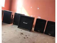 Marshall/Yamaha/EZ Speakers