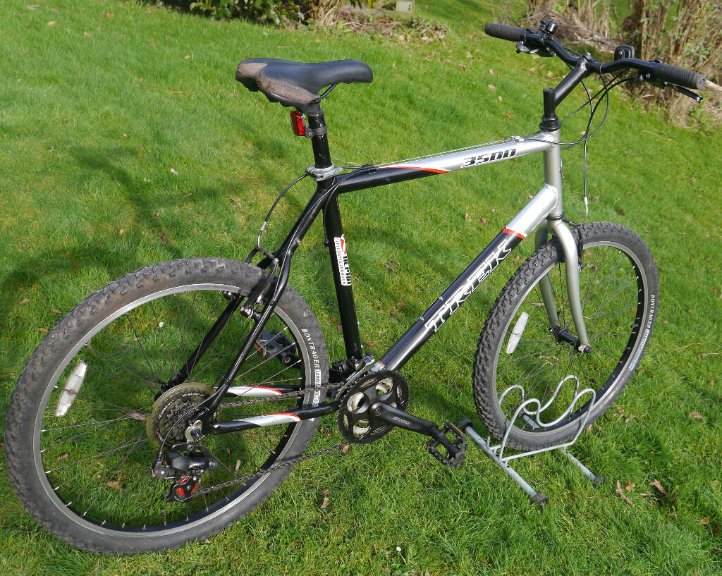 Trek 3500 Mountain Bike Xl 22 5 Aluminium Frame Shimano 21