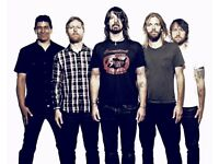 2 Foo Fighter's Tickets