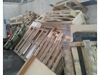 Free firewood pallets etc