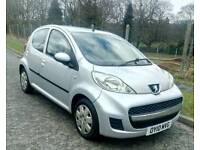 2010 Peugeot 107 urban 1.0 litre £20 Road tax cheap on insurance cheap and Bargain price