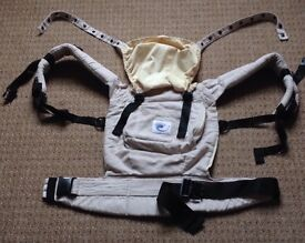 Original ERGObaby Carrier in Ivory, £40 no offers