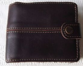 FAT FACE LEATHER WALLET