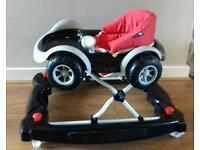 Car baby walker/ rocker. Nearly new