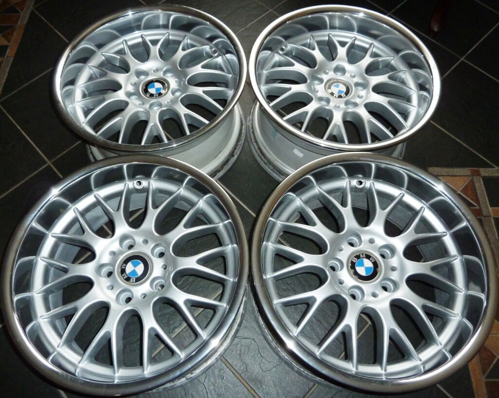 17 Deep Dish Genuine Rondell 0058 Alloy Wheels For Bmw