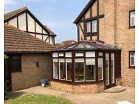 Double Glazed Conservatory with Blinds ONO