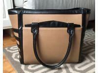 Love Republic Handbag. Tan/black color. Used RRP £50