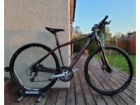 Cube Nature CLS hybrid bike 18 Medium frame 29 inch wheels