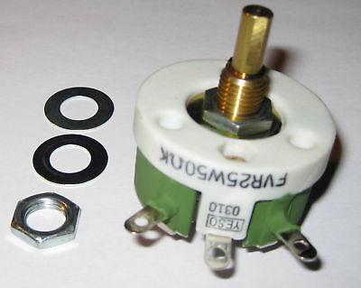 Yeso Wirewound Rheostat 50 Ohms - 25 Watts