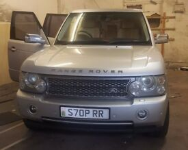Range Rover Vogue 3.0 tdi 55 reg 06 model