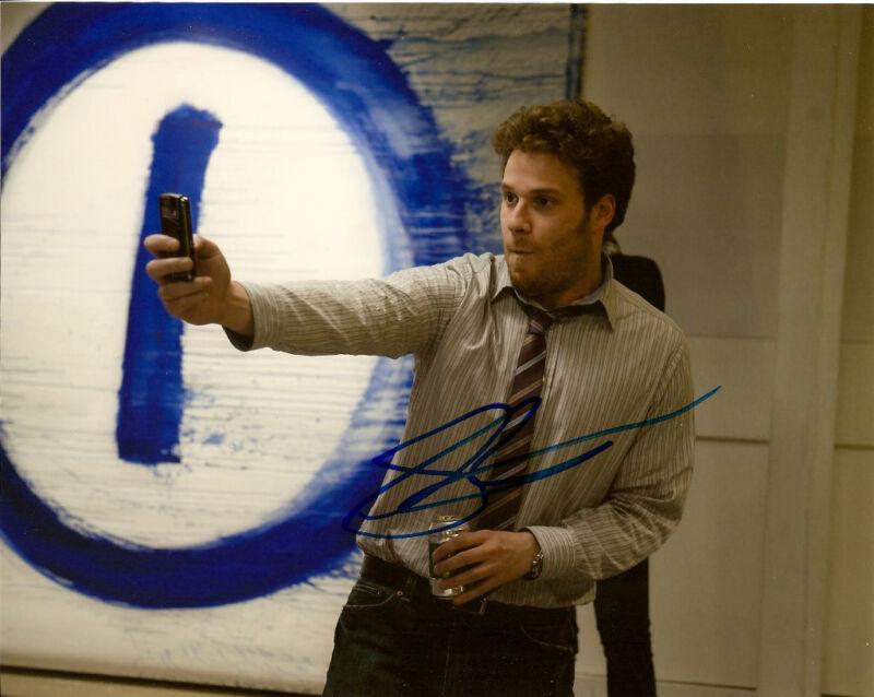 50/50 Seth Rogen Signed Autographed 8x10 Phone COA