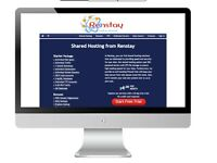 One page website, domain and business email for $49 one-off