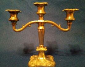 Beautiful Real Halmarked Silver Candelabra