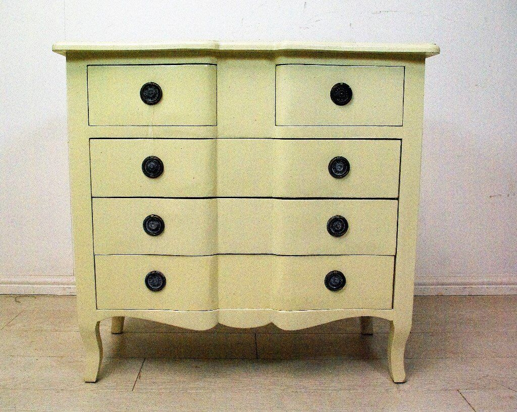 Beautiful antique solid wood chest of drawers