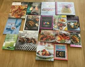 X17 Cook/ Baking/ Cocktail Books