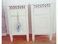 Beautiful Shabby Chic Belgravia bedside drawers