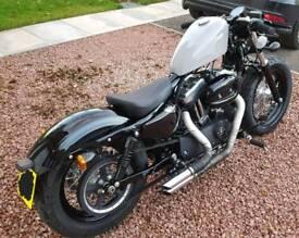 Harley Davidson 48 (Forty Eight) 1200xl Custom Bobber