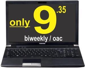 ***ONLY $9.35 / biweekly oac*** TOSHIBA R950, i7 3ghz, 8gb, 1TB,