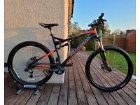 "CB Boardman Team FS 650b full suspension mountain bike 20"" Large XL frame 27.5"" wheels"