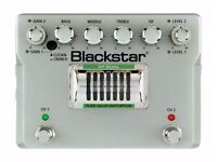 Blackstar HT Dual guitar overdrive/distortion preamp pedal.