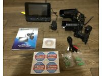 "Swann ADW-350 Wireless CCTV Recorder DVR / 7"" LCD Monitor with 2 Cameras"