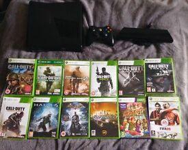 Cheap Xbox 360 + Kinect + 13 games bundle