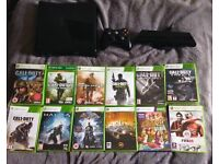 Cheap Xbox 360 + Kinect + 13 games bundle