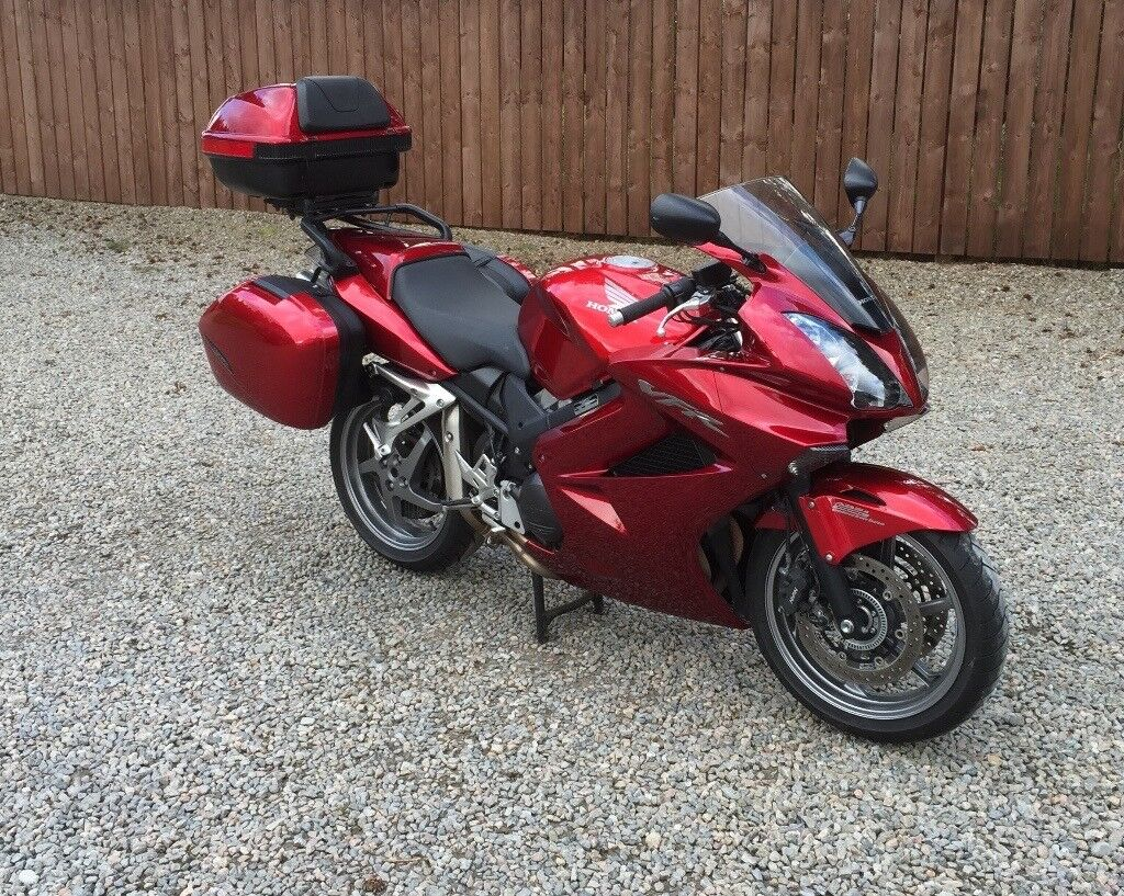 honda vfr 800 vtec 2009 red low mileage in inverness highland gumtree. Black Bedroom Furniture Sets. Home Design Ideas