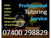 Professional Tutoring service