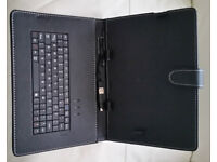 """NEW 10"""" Inch Keyboard Cover For Android Tablet PC Case USB Keyboard With Stand"""
