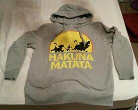 Ladies lion king hoodie size 12